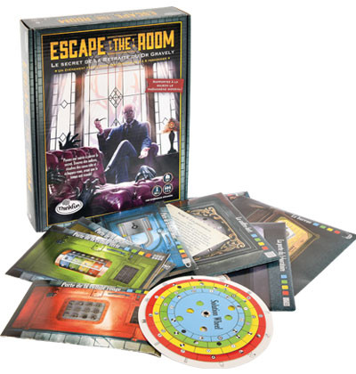 73 - Escape the room - secret retrait