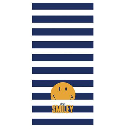 77 - Drap de plage Smiley