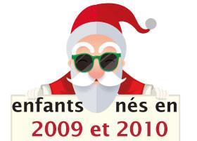 Jouets pour enfant nés en 2009 et 2010